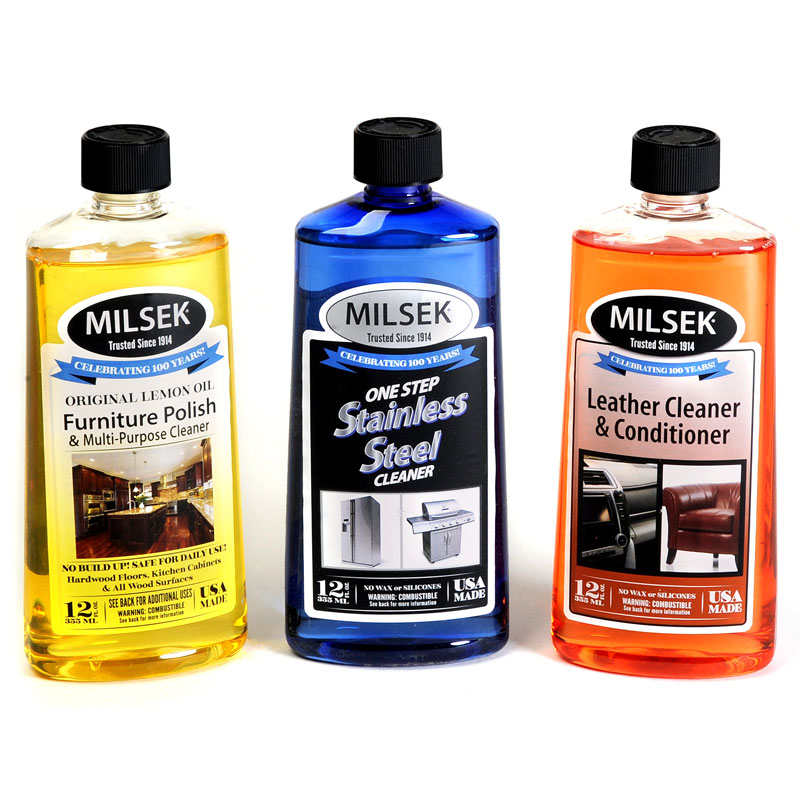 Furniture Polish, Wood Cleaner & Stainless Steel Cleaner