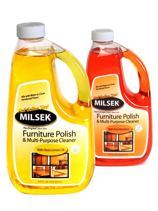 Furniture Polish Multi Purpose Cleaner Half Gallon Jug Milsek